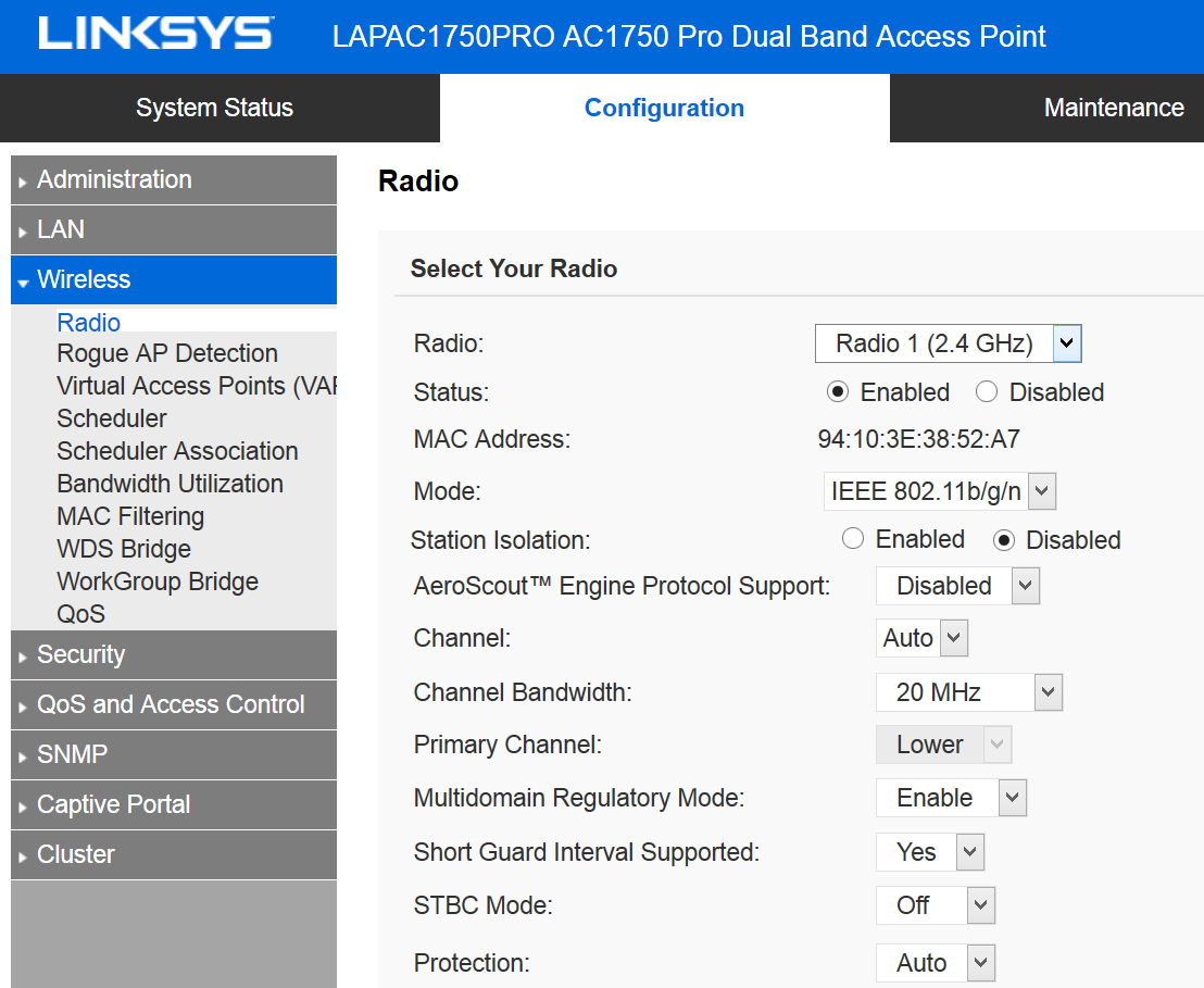 Linksys LAPAC1750PRO Wireless Access Point Review | The