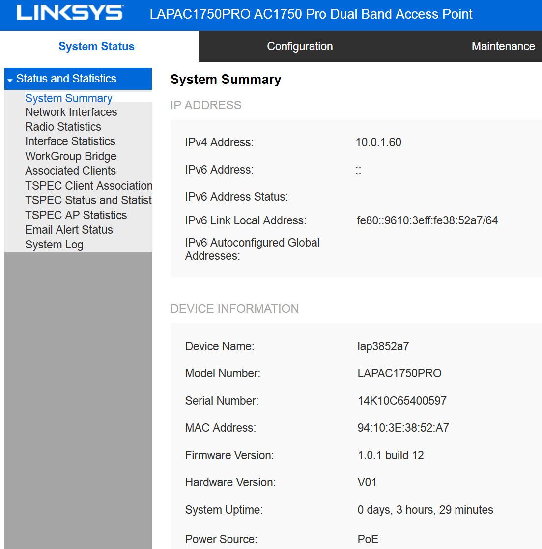LINKSYS LAPAC1750PRO ACCESS POINT DRIVERS FOR WINDOWS XP
