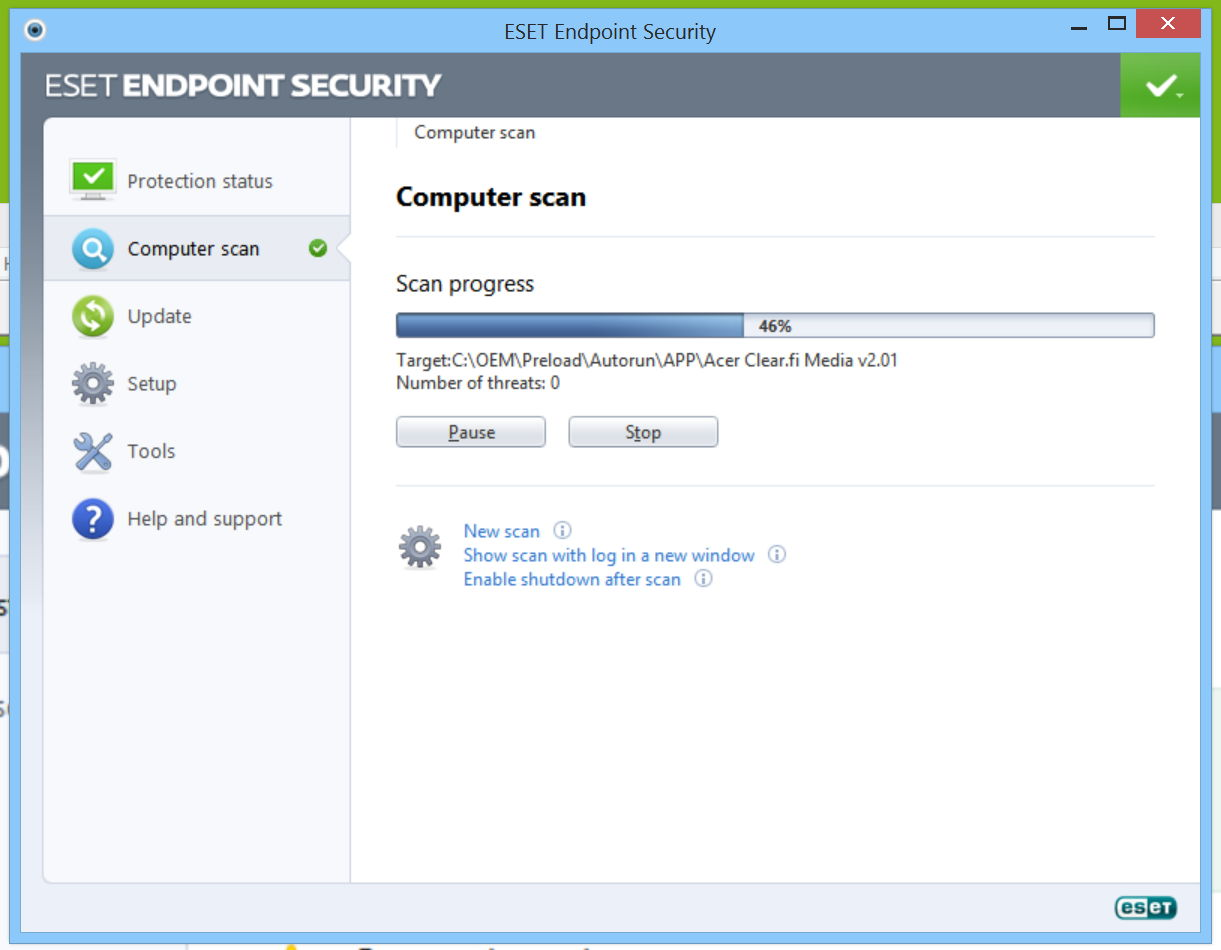 Eset Endpoint Security Effective And Unobtrusive The