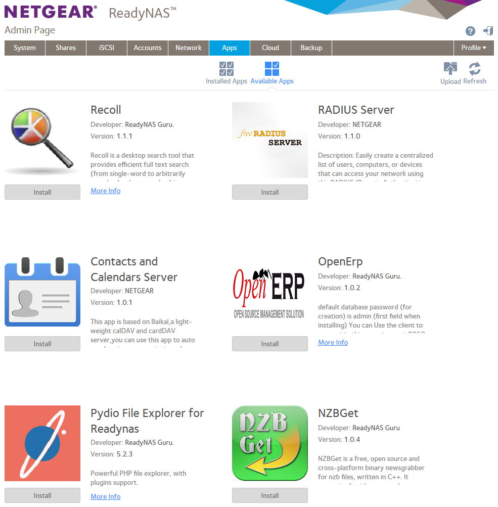 Netgear ReadyNAS RN104 Review - A New Level of Ease of Use