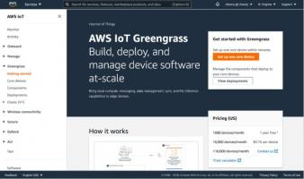 AWS IoT Greengrass