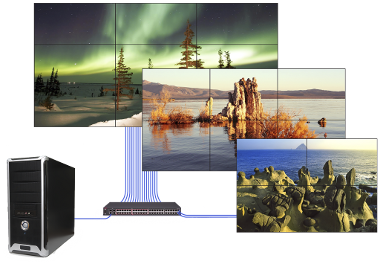 Userful's 'World's First' 4k Network Video Wall Now