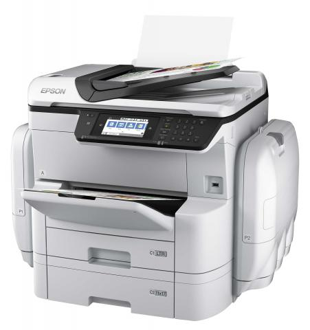 Epson Unveils High Speed A3 Color Inkjet MFPs