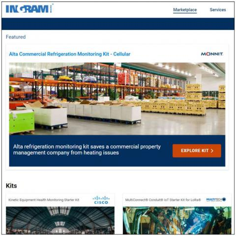 Ingram Micro Introduces Online Iot Marketplace The