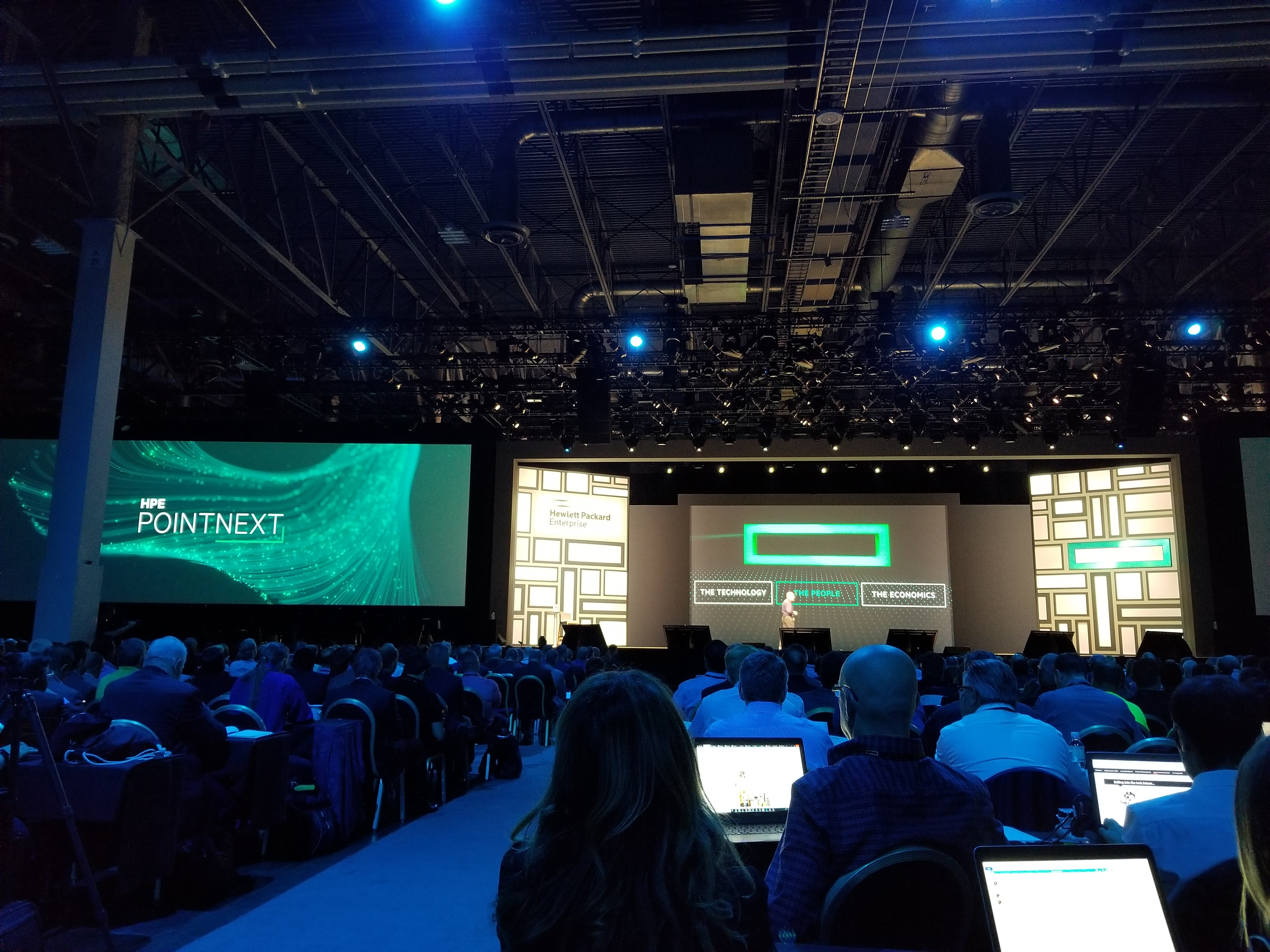 HPE Discover 2018 General Session Live Blog - Day 2   The ChannelPro Network