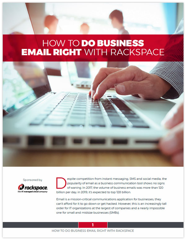 How to Do Business Email Right with Rackspace | The