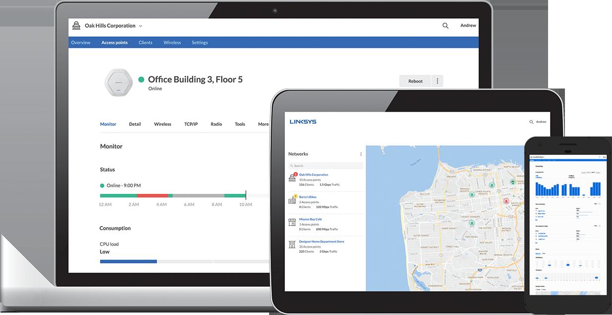 Linksys Introduces Free Cloud Networking Management Platform