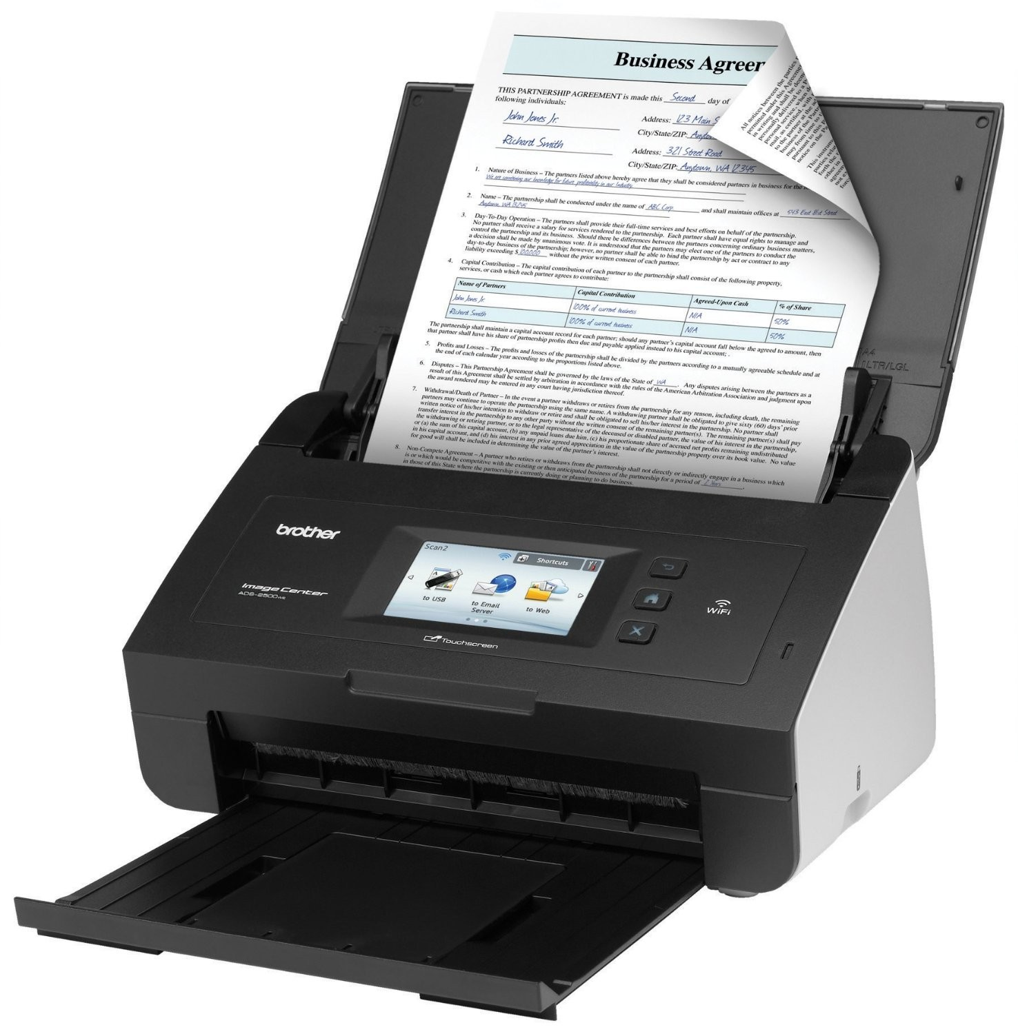 Brother ADS-2500We Review: Because Scanners Should Have