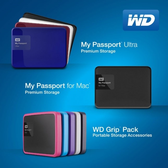 Wd Redesigns My Passport Ultra Portable Hard Drives The